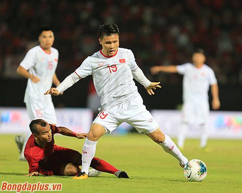 Indonesia từng thua toàn diện Việt Nam trong năm 2019 - Ảnh: Phan Tùng