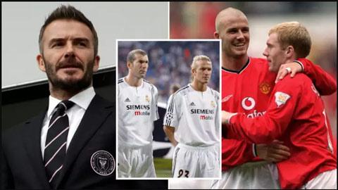 """Đội hình """"cạ cứng"""" của Beckham toàn huyền thoại làng bóng đá"""