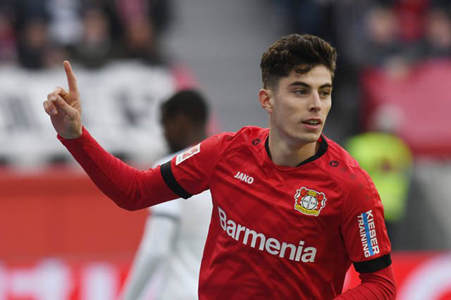 Havertz sẽ đi đâu nếu rời Leverkusen?