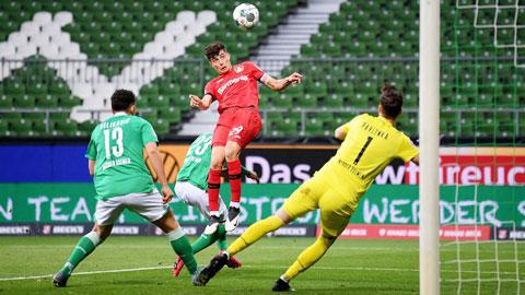 Havertz sắm vai 'siêu anh hùng' trong trận đại thắng Bremen
