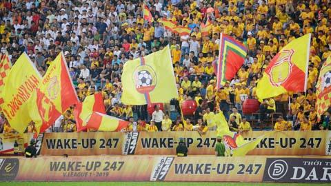 Trận DNH Nam Định - HAGL được đón 50% lượng khán giả vào sân Thiên Trường