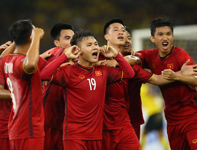 Đội tuyển Việt Nam đang là đương kim vô địch AFF Cup