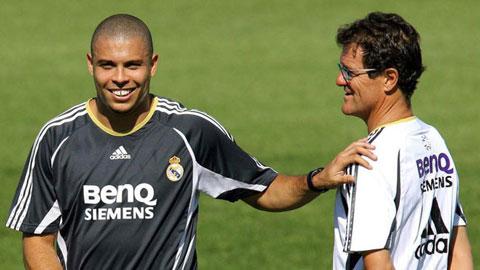 Capello tiết lộ về sự hư đốn của Ronaldo