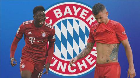 Alphonso Davies khiến bản hợp đồng 80 triệu euro của Bayern bị 'xếp xó'