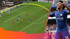 Những pha lốp bóng thành bàn đỉnh cao trong lịch sử Ngoại hạng Anh