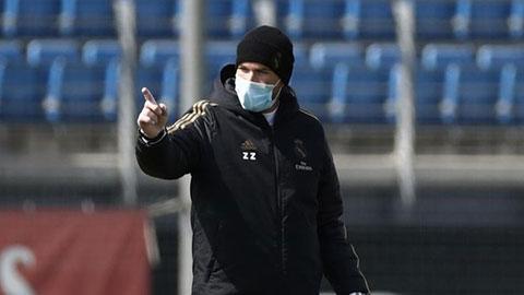 Zidane: 'Nỗ lực giành chức vô địch là DNA của Real'