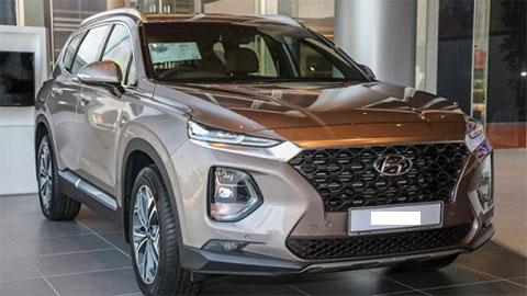 Hyundai Santa Fe 2020 ra mắt với nhiều cải tiến, giá 'ngon' đấu Toyota Fortuner, Ford Everest