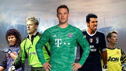 Neuer và 11 thủ môn quét xuất sắc nhất mọi thời đại
