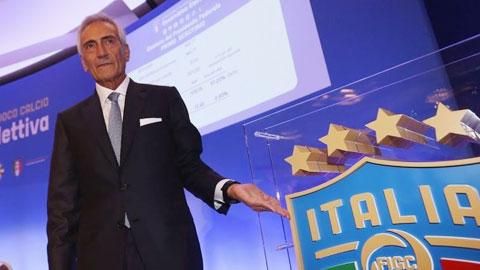 FIGC lên phương án kết thúc mùa giải