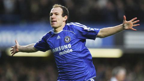 """Robben để lại đôi chân """"pha lê"""" ở Premier League"""