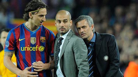 Mourinho tiết lộ điều thì thầm vào tai Guardiola