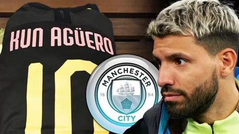 """2 ông lớn nhăm nhe """"đánh cắp"""" Sergio Aguero khỏi Man City"""