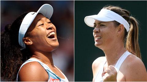 Sharapova bị Naomi Osaka xô đổ kỷ lục