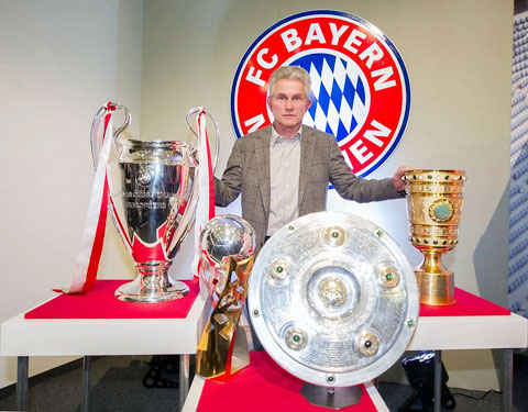 Pranjic khâm phục những chiến công của Heynckes tại Bayern