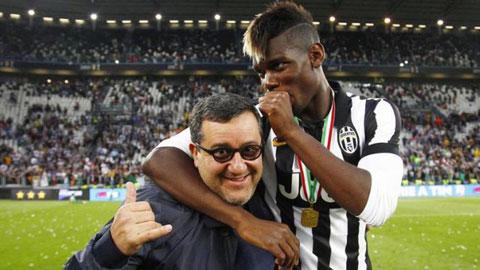 Raiola có kế hoạch mới để đưa Pogba về lại Juve