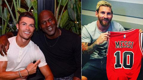 Tầm ảnh hưởng của Michael Jordan cao hơn bởi ông không phải phụ thuộc vào đồng đội để tỏa sáng như Messi và Ronaldo