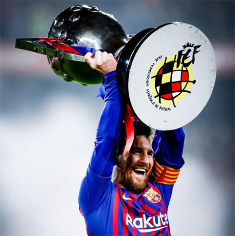 Trong cả 3 phương án dự phòng của BTC La Liga, Messi đều sẽ có lần thứ 11 nâng cao chức vô địch