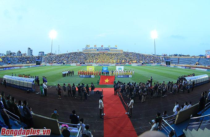 Tất cả đều chú ý đến trận đấu giữa DNH Nam Định và HAGL