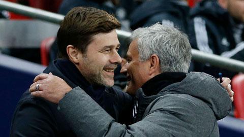 Pochettino hạnh phúc vì người kế nhiệm ở Tottenham là Mourinho