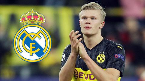 Real đưa danh sách 7 cầu thủ cho Dortmund chọn kèm tiền để đổi lấy Haaland