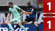 Paderborn 1-1 Hoffenheim(Vòng 27 Bundesliga 2019/20)