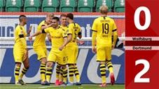 Wolfsburg 0-2 Dortmund(Vòng 27 Bundesliga 2019/20)