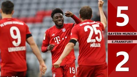 Bayern Munich 5-2 E.Frankfurt(Vòng 27 Bundesliga 2019/20)