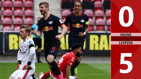 Mainz 0-5 Leipzig(Vòng 27 Bundesliga 2019/20)