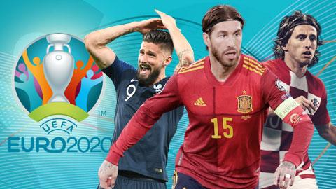 Ramos, Modric và những tên tuổi lớn có thể lỡ EURO 2021