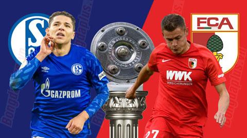 Trực tiếp Schalke vs Augsburg, 18h30 ngày 24/5