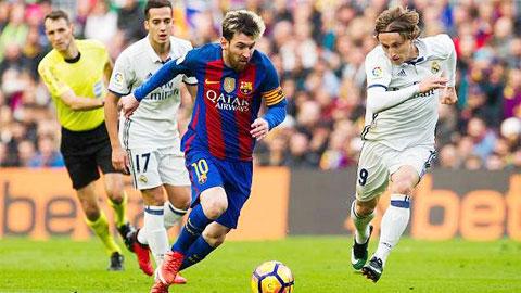 Barca nhỉnh hơn Real trong cuộc đua vô địch