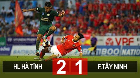HL Hà Tĩnh 2 – 1 F.Tây Ninh: Tân binh V.League thắng nhọc nhằn