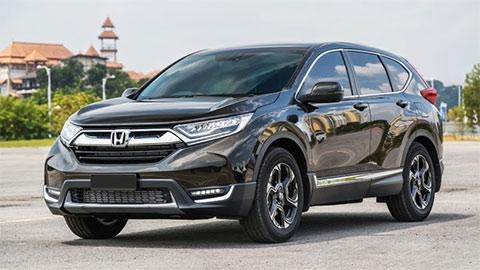 Honda CR-V nhập Thái, động cơ Turbo giảm giá 'kịch sàn', đấu Hyundai Tucson, Mazda CX-5