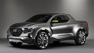 Hyundai Santa Cruz kiểu dáng hầm hố đấu Ford Ranger bằng giá rẻ