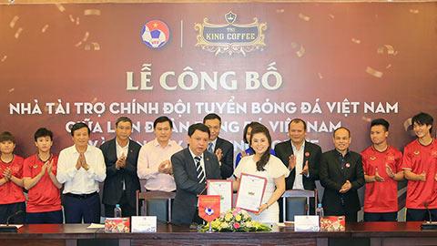 ĐT Việt Nam có thêm nhà tài trợ 'khủng' giữa dịch Covid-19