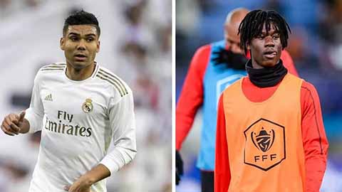 Camavinga sẽ thay thế Casemiro tại Real Madrid của tương lai