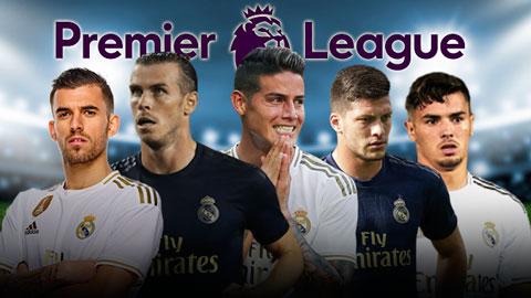 5 cầu thủ Real có thể tới Premier League thi đấu vào mùa giải tới
