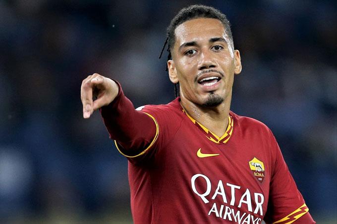 Smalling nhiều khả năng sẽ được Roma ký hợp đồng dài hạn