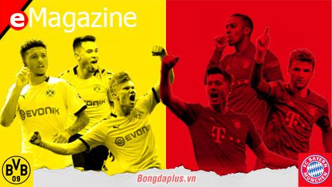 Der Klassiker - trận Siêu Kinh Điển phân định ngôi Vương Bundesliga