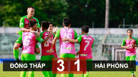 Đồng Tháp 3-1 Hải Phòng: Martin Lò tịt ngòi, Hải Phòng bại trận