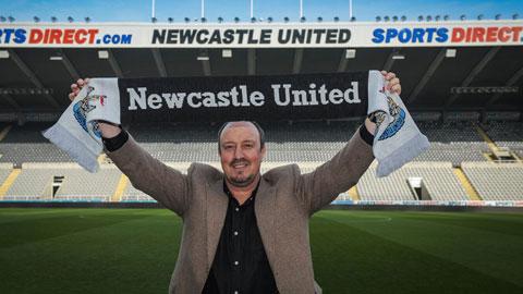 Rafa Benitez trên đường trở lại Newcastle