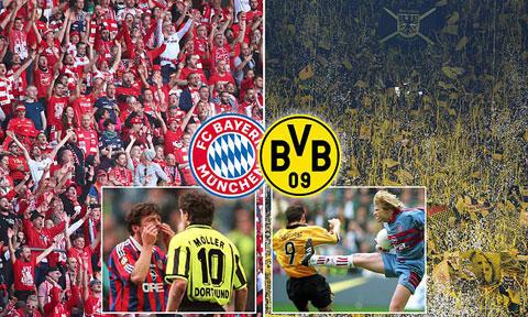 Dortmund - Bayern  là cuộc đối đầu  giữa hai thế lực  vượt trội tại Đức