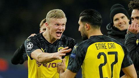 Haaland và Can đã lột xác Dortmund