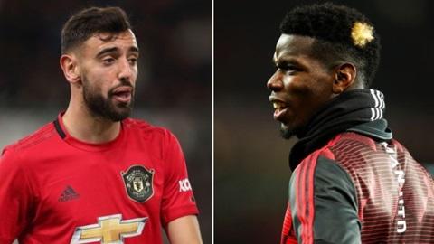 CĐV M.U nói gì khi Pogba và Fernandes tập luyện cùng nhau?