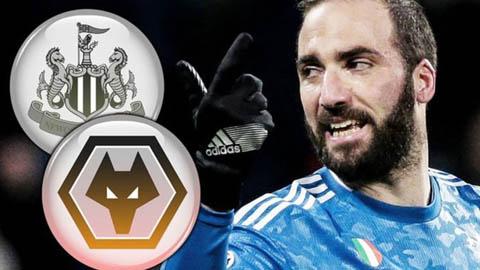 Newcastle và Wolves muốn chiêu mộ Higuain
