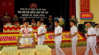 Đại hội Đảng bộ Lữ đoàn 147 Hải quân: Dân chủ, kỷ cương, sáng tạo, quyết thắng!