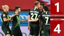 Bayer Leverkusen 1-4 Wolfsburg (Vòng 28 Bundesliga 2019/20)