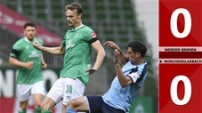 Werder Bremen 0-0 Borussia Mönchengladbach (Vòng 28 Bundesliga 2019/20)