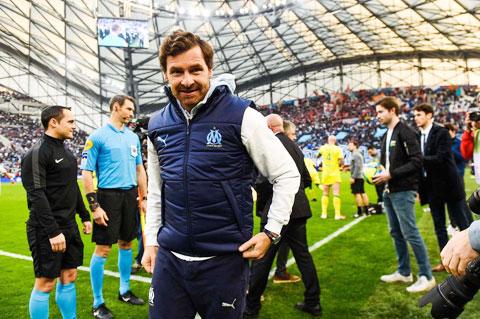 HLV Andre Villas-Boas rất được lòng các CĐV và cầu thủ Marseille