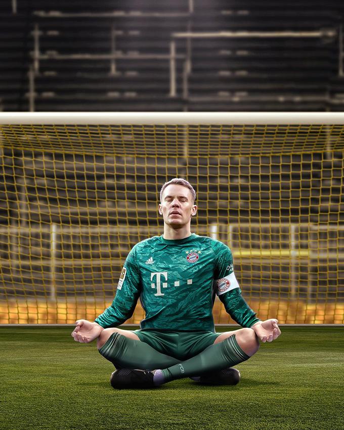 Neuer có thêm 1 trận đấu xuất sắc và sạch lưới